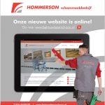 Digitale nieuwsbrief Hommerson Schoonmaakbedrijf