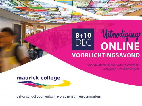 Maurick College link