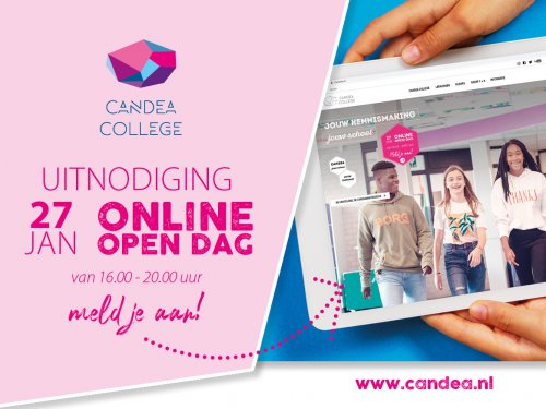 Candea College uitnodiging open dag